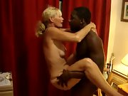 Busty wife railing a ebony stud in her first hotwife experience