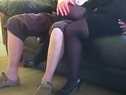 Mrs toodosex4u dressed to penetrate for an old friend coming over