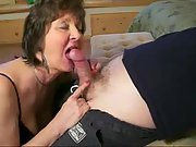 The older the nicer she knows how to gargle a cock
